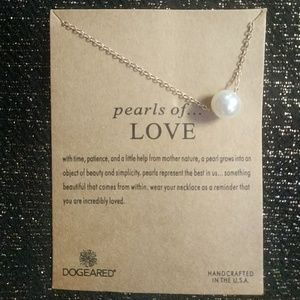 Pearls of Love Charm Necklace